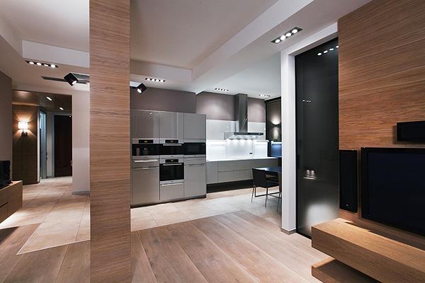 Minimalistic Apartment In Moscow // Arma Design Studio | Afflante.com