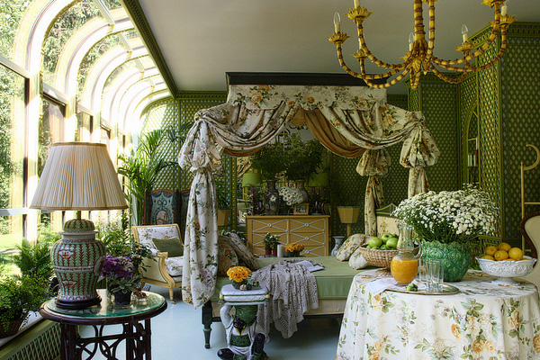 Stunning Winter Garden Interior Kirill Istomin Afflantecom