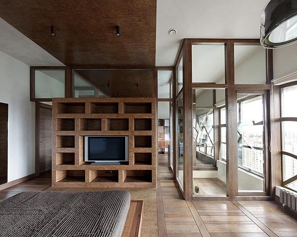 urban and unique apartment interior design // petr kostelov