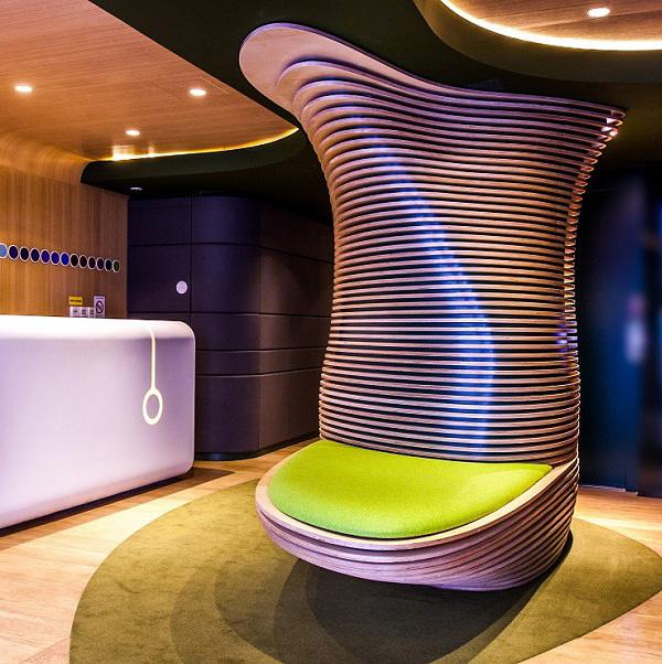Fabuleux Contemporary Hotel O In Paris // Ora-Ito | Afflante.com QJ29