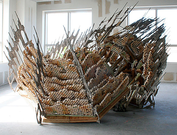 Sculptures with Ephemeral Materiality // Diana Al-Hadid | Afflante.com